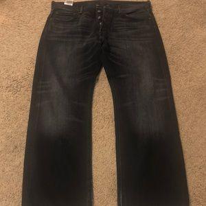 Levi's 501 Original Straight Jeans Black 34W 29L